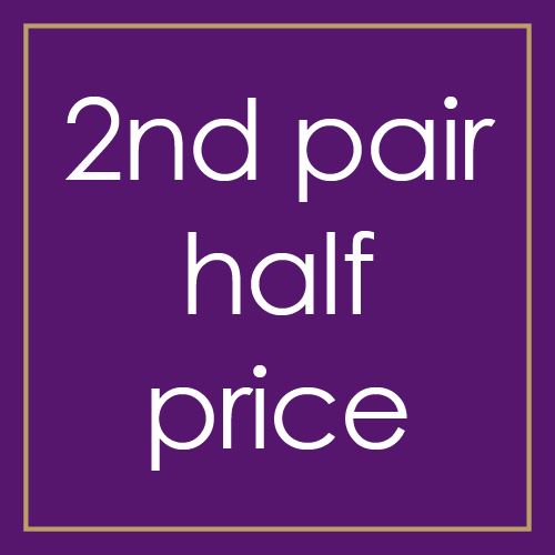 2nd pair half price